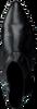 Schwarze BRONX Stiefeletten 34047 - small
