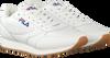 Weiße FILA Sneaker ORBIT JOGGER LOW WMN  - small