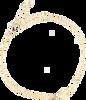 Goldfarbene ALLTHELUCKINTHEWORLD Armband ELEMENTS BRACELET TRIANGLE SOL - small
