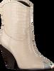 Weiße LOLA CRUZ Stiefeletten 059T45BK  - small