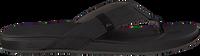 Schwarze REEF Pantolette CUSHION BOUNCE PHANTOM  - medium