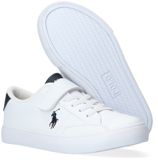 Weiße POLO RALPH LAUREN Sneaker low THERON IV PS  - large
