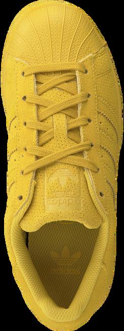 Gelbe ADIDAS Sneaker SUPERSTAR J - large
