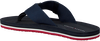Blaue TOMMY HILFIGER Pantolette SPORTY CORPORATE BEACH  - small