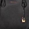 Schwarze MICHAEL KORS Handtasche LG CENTER ZIP TOTE - small