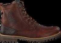 Cognacfarbene GAASTRA Ankle Boots CAPE HIGH - medium