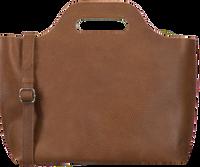 Cognacfarbene MYOMY Handtasche MY CARRY BAG HANDBAG  - medium