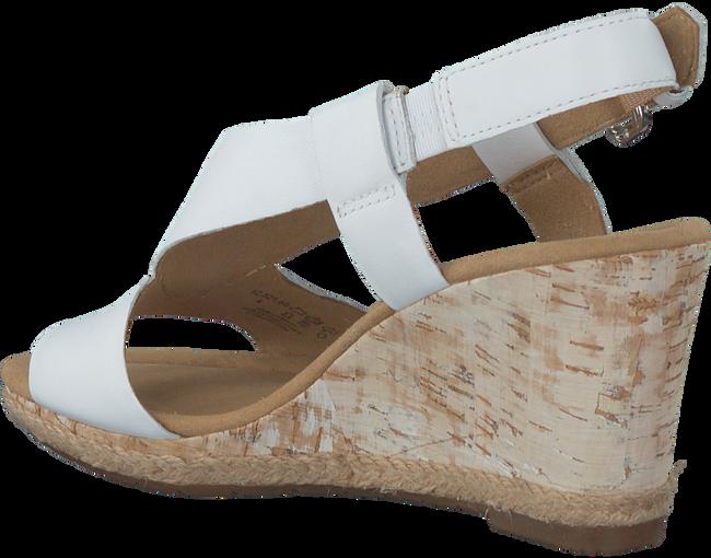 Weiße GABOR Sandale 62.821 - large