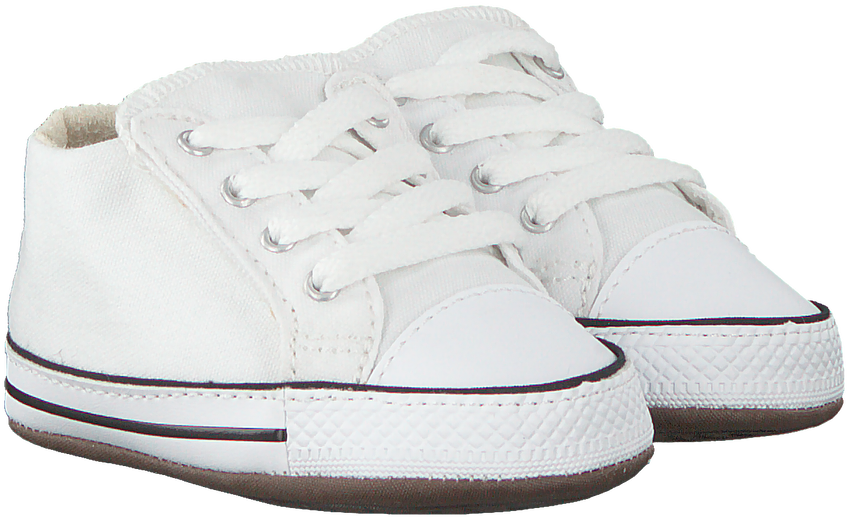 Weiße CONVERSE Babyschuhe CRIBSTER CANVAS COLOR  - larger