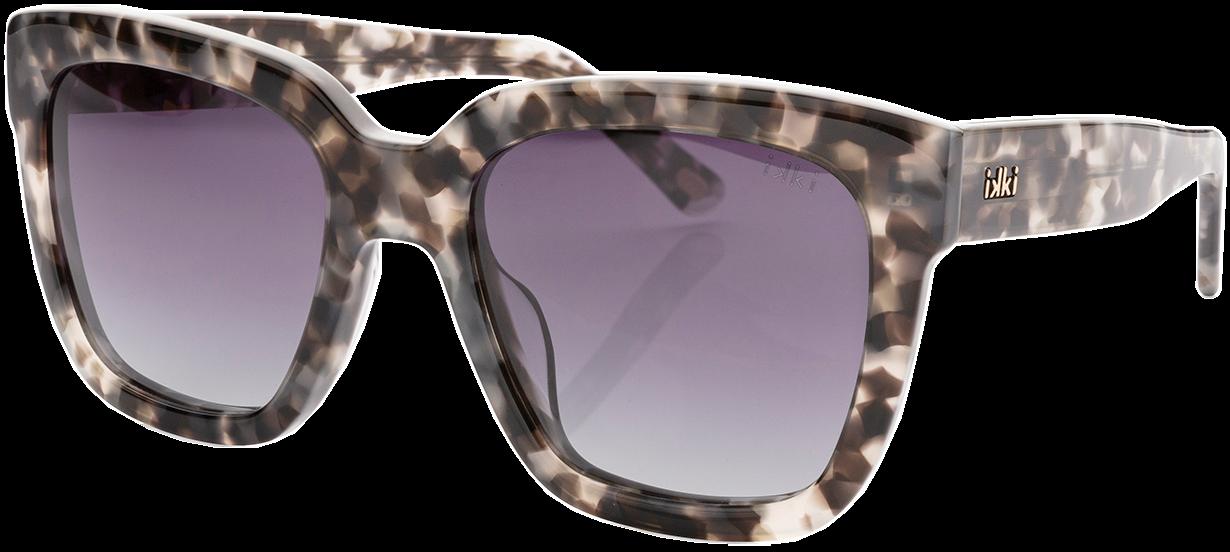 Schwarze IKKI Sonnenbrille HOLLY dxcYJ