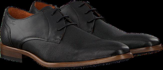 Schwarze VAN LIER Business Schuhe 1951700  - large