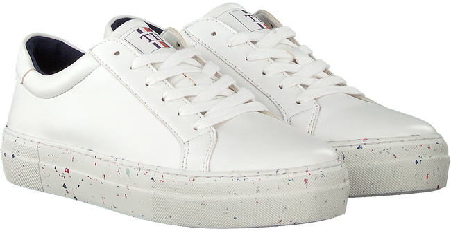 Weiße TOMMY HILFIGER Sneaker low WMNS PREMIUM SUSTAINABLE  - large