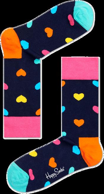 Blaue HAPPY SOCKS Socken HEART - large
