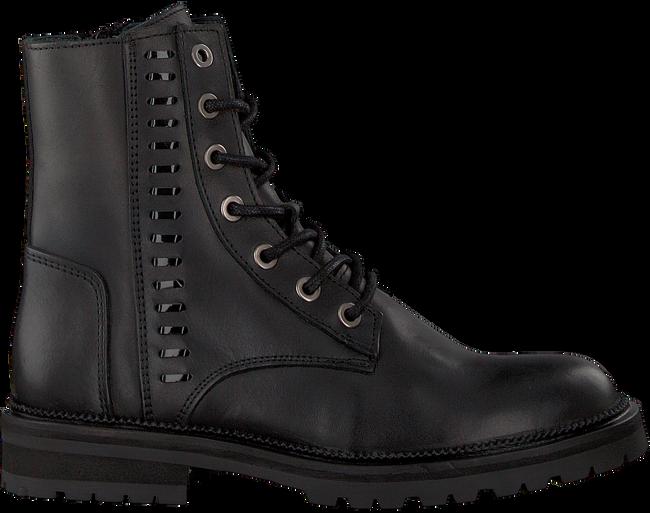 Schwarze HIP Biker Boots H1697 - large