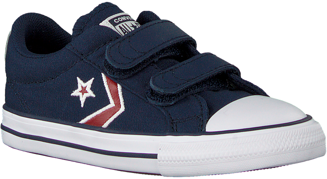 Blaue CONVERSE Sneaker low STAR PLAYER 2V OX KIDS  - large