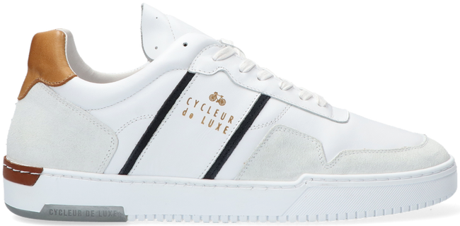 Weiße CYCLEUR DE LUXE Sneaker low AURONZO  - large