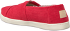 Rote TOMS Slipper ALPARGATA K  - small