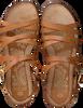 Braune FRED DE LA BRETONIERE Sandalen 170010105 FRS0655  - small
