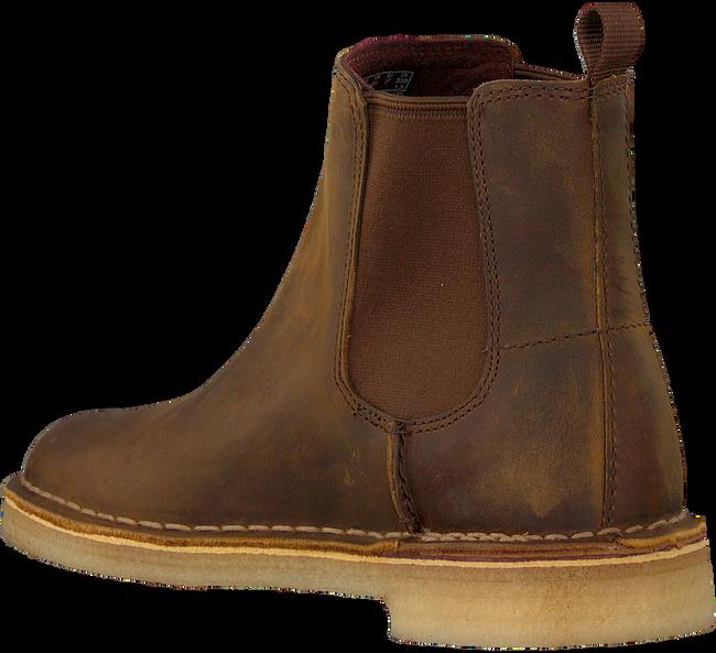 Braune CLARKS Chelsea Boots DESERT PEAK - large
