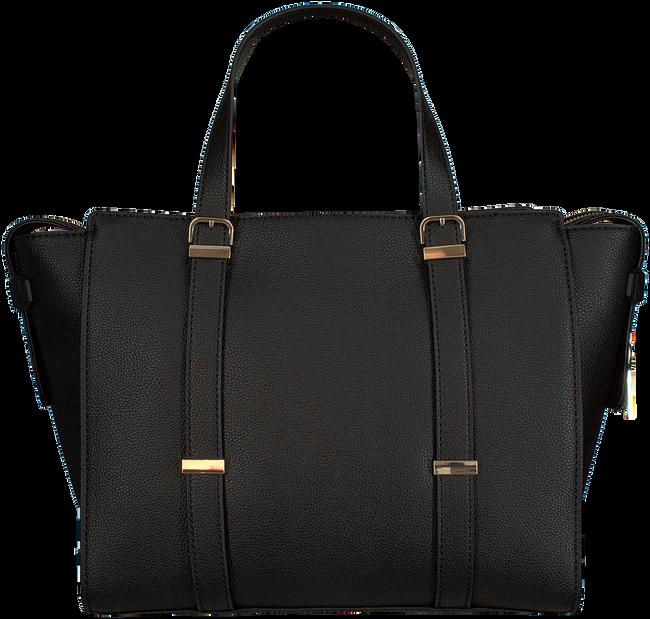 Schwarze GUESS Handtasche EILEEN SATCHEL  - large