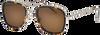 Braune IKKI Sonnenbrille KAY  - small