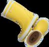Gelbe AIGLE Gummistiefel LOLLYPOP  - small