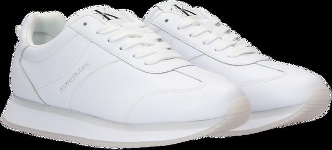 Weiße CALVIN KLEIN Sneaker low RUNNER SNEAKER LACEUP  - large