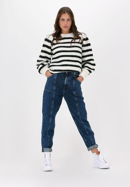 Blaue TOMMY JEANS Mom jeans MOM JEAN KP UHR TP BE855 SVDBR - large