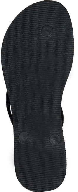 Schwarze HAVAIANAS Zehentrenner SLIM BRASIL LOGO - large