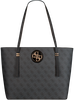 Graue GUESS Umhängetasche OPEN ROAD TOTE  - small