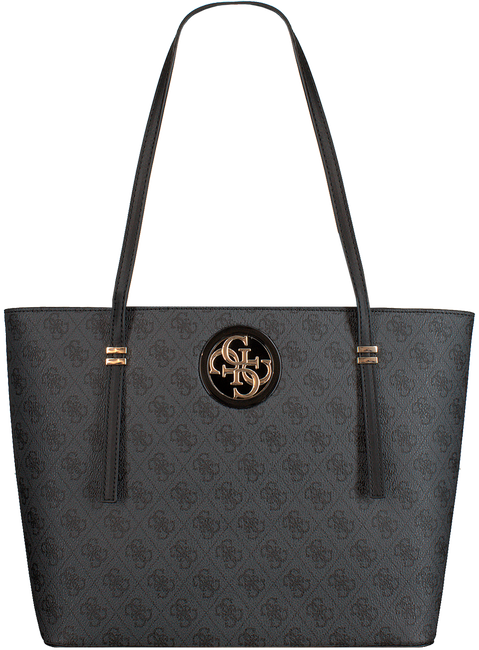 Graue GUESS Umhängetasche OPEN ROAD TOTE  - large
