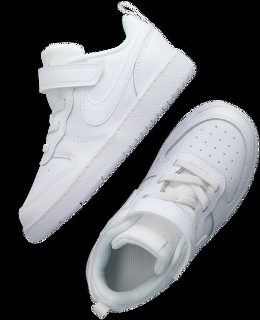 Weiße NIKE Sneaker low COURT BOROUGH LOW 2 (TDV)  - large