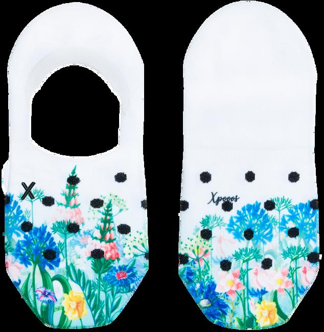Weiße XPOOOS Socken HARPER  - large
