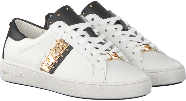 goldfarbene michael kors sneaker keaton stripe sneaker. Black Bedroom Furniture Sets. Home Design Ideas