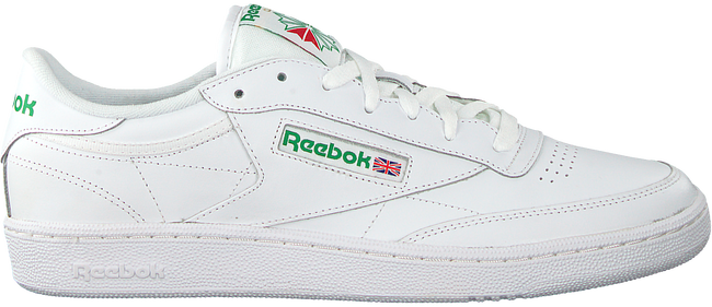 Weiße REEBOK Sneaker CLUB C 85 MEN - large