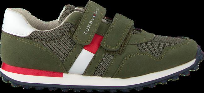 Grüne TOMMY HILFIGER Sneaker LOW CUT VELCRO SNEAKER  - large