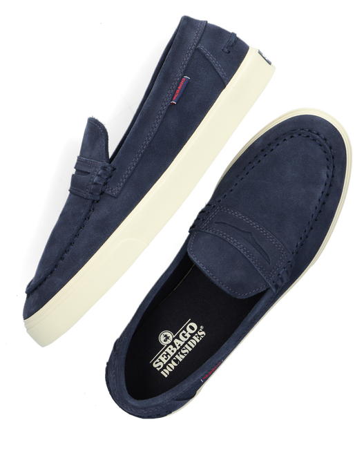 Blaue SEBAGO Slipper MANITOU  - large