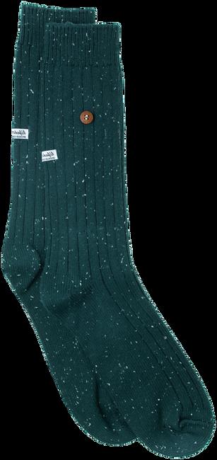 Grüne Alfredo Gonzales Socken SPECKLED COTTON  - large