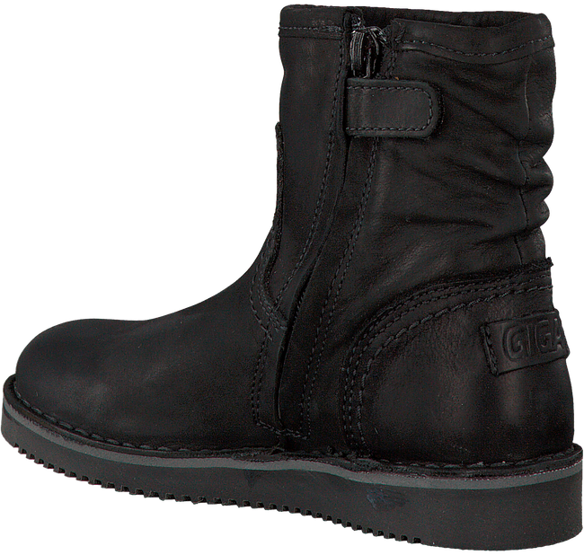 Schwarze GIGA Stiefeletten 8704 - large