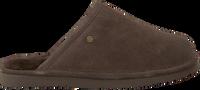 Braune WARMBAT Hausschuhe KEITH  - medium