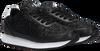 Schwarze CALVIN KLEIN Sneaker low RUNNER SNEAKER LACEUP GLITTER  - small