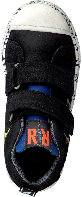 Schwarze RED-RAG Sneaker 13329  - large