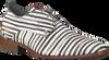Weiße REHAB Business Schuhe GREG STRIPES LIZ - small
