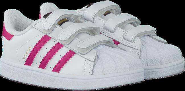 Weiße ADIDAS Sneaker SUPERSTAR CF - large