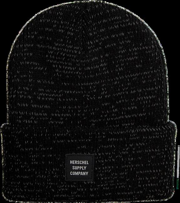 Schwarze HERSCHEL Mütze REFLECTIVE ABBOTT - large