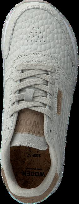 Graue WODEN Sneaker low YDUN CROCO  - large