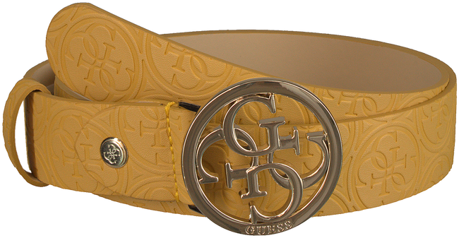 Gelbe GUESS Gürtel HERITAGE POP ADJUSTABLE BELT  - large