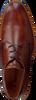 Cognacfarbene VAN LIER Schnürschuhe 1955323  - small