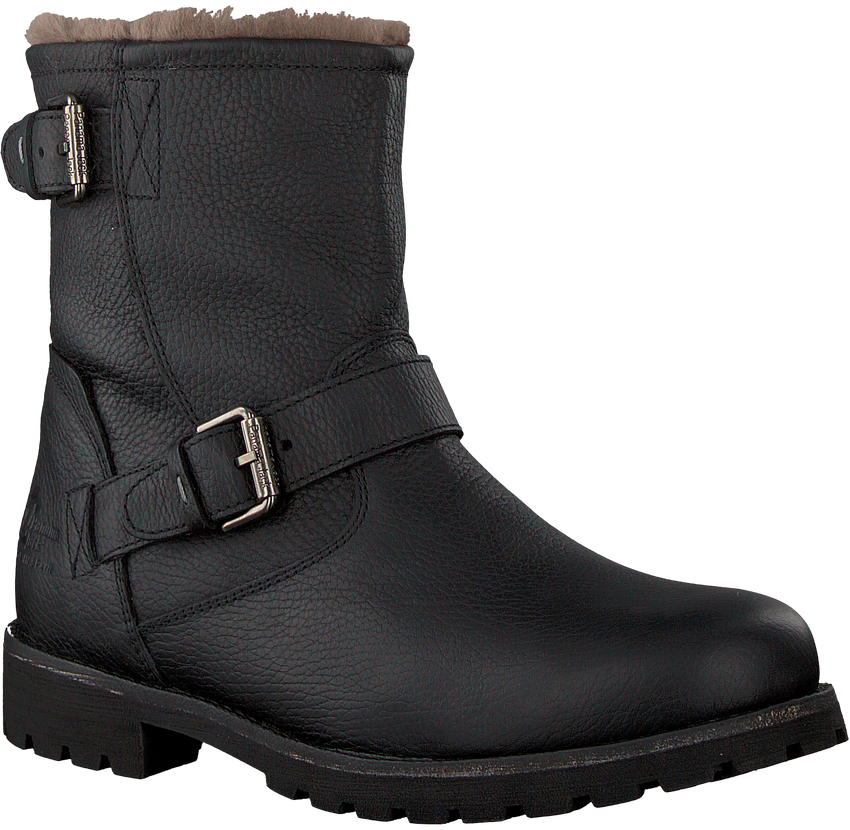 Schwarze PANAMA JACK Ankle Boots FAUST IGLOO C18 - larger