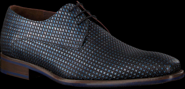 Blaue FLORIS VAN BOMMEL Business Schuhe 14204
